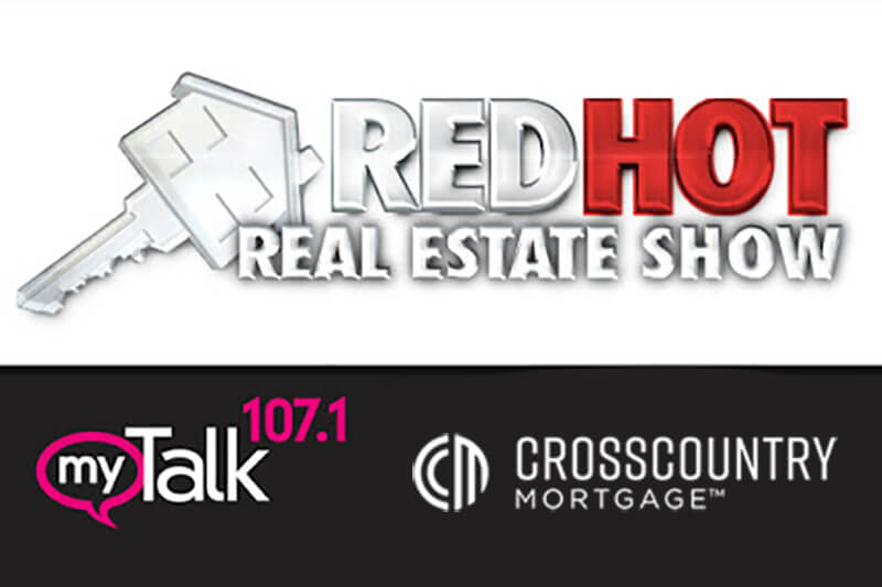 red hot real estate show talk 107.1 ccm logo
