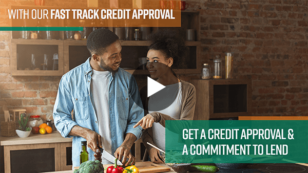 Couple ready to buy with quick mortgage approval video preview