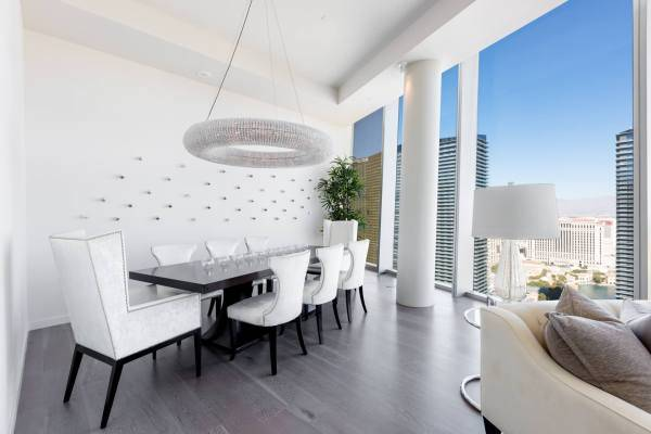 luxury high rise condo in Las Vegas