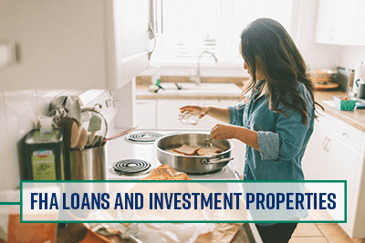 Woman cooking in her investment property